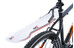 Red Cycling Products ClipOn - Guardabarros trasero - transparente